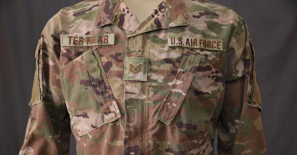 US Air Force OCP Uniform